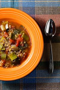 Vadouvan spiced Red Lentil Soup
