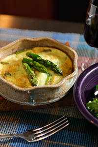Crustless Asparagus Quice
