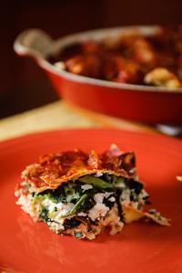 Kale Lasagna Diavolo