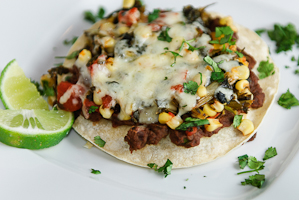 Layered Vegetable Enchilada