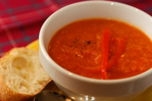 Carrot Red-Pepper Soup
