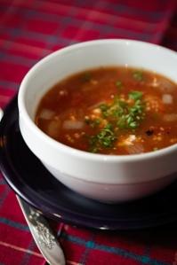 Tomato Bulgur Soup
