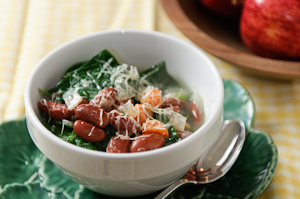 White Bean & Collards Soup