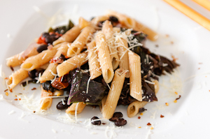 Whole Wheat Pasta with Kale