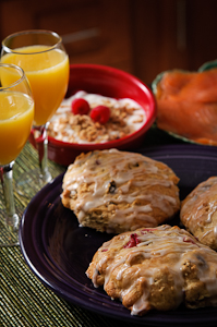 Flour Bakery Dried Fruit Scones