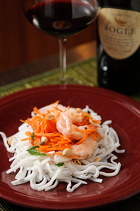 Thai Shrimp and Carrot Salad