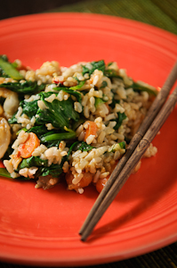 Bok Choy Fried Rice