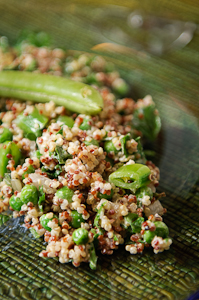Quinoa and Peas