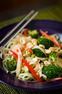 Rice noodle bowl